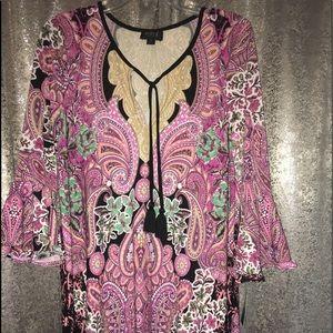 ECI Beautiful print dress